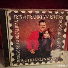 CDs de Música: IRIS & FRANKLYN RIVERS - NUEVO SELLO DE CALIDAD - SPAIN CD ALBUM MANZANA 1994. Lote 237594320