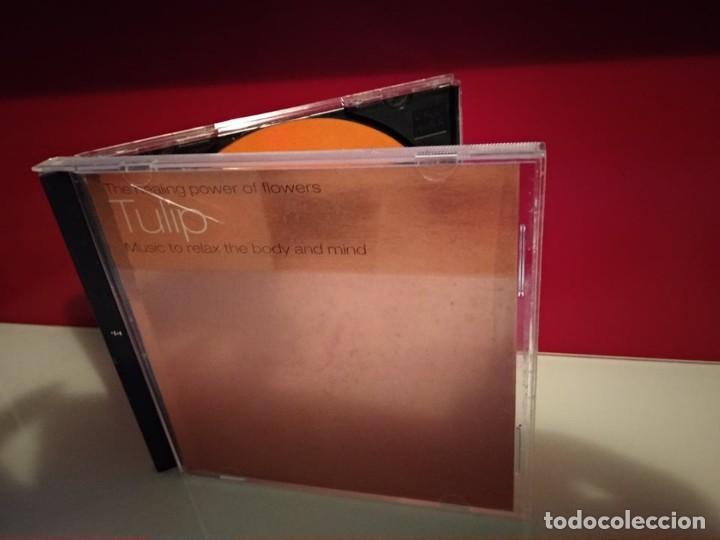 TULIP - THE HEALING POWER OF FLOWERS CD ALBUM RELAX CHILL RELAJACION ALBUM CD (Música - CD's Pop)