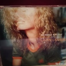 CDs de Música: MONIKA KRUSE FEATURING ZAFRA NEGRA - LATIN LOVERS CD SINGLE 3 TEMAS 2003. Lote 237594855