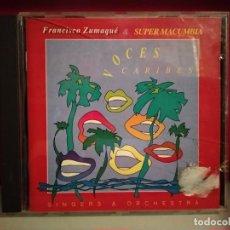 CDs de Música: CD VOCES CARIBES FRANCISCO ZUMAQUÉ & SUPER MACUMBIA. Lote 237594920