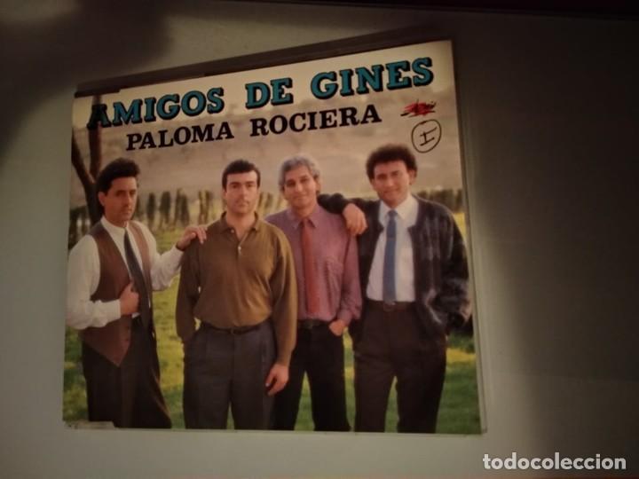 CD PROMOCIONAL DE PLÁSTICO AMIGOS DE GINES PALOMA ROCIERA AÑO 1993 (Música - CD's Pop)