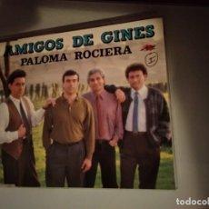 CDs de Música: CD PROMOCIONAL DE PLÁSTICO AMIGOS DE GINES PALOMA ROCIERA AÑO 1993. Lote 237595230