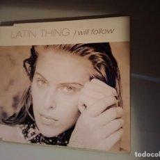 CDs de Música: 0121- LATIN THING I WILL FOLLOW 4 TRACKS CD ( DISCO ESTADO NUEVO). Lote 237595270