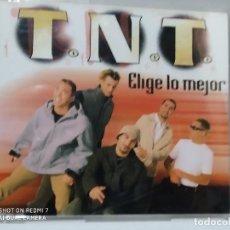 CDs de Música: TNT / ELIGE LO MEJOR - CDSINGLE. Lote 237596370