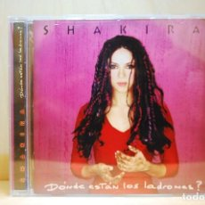 CDs de Música: SHAKIRA - ¿DÓNDE ESTÁN LOS LADRONES? - CD -. Lote 237596675