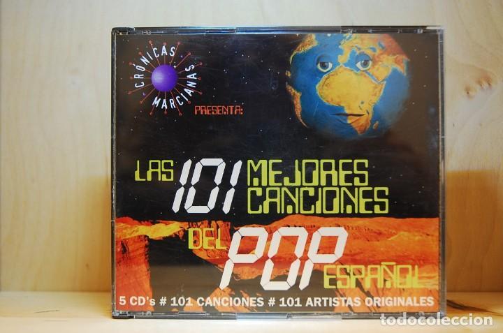 CRÓNICAS MARCIANAS - LAS 101 MEJORES CANCIONES DEL POP ESPAÑOL - 5 CD'S - (Música - CD's Pop)