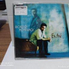 CDs de Música: RICARDO MONTANER / ES ASI - CDSINGLE. Lote 237597405