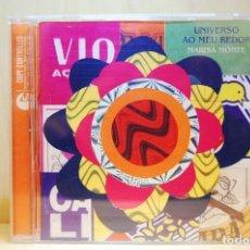 CDs de Música: MARISA MONTE - UNIVERSO AU MEU REDOR - CD -. Lote 237597490