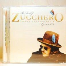 CDs de Música: THE BEST OF ZUCCHERO - SUGAR FORNACIARI'S GREATEST HITS - CD -. Lote 237597545