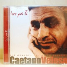 CDs de Música: CAETANO VELOSO - LOCO POR TI. SUS GRANDES ÉXITOS EN ESPAÑOL (CD+DVD) -. Lote 237597605