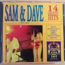 CDs de Música: SAM & DAVE - 14 GREATEST HITS (CD). Lote 237620870