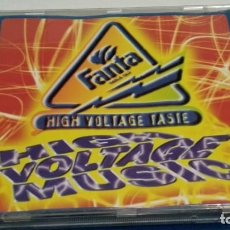 CDs de Música: CD FANTA HIGH VOLTAGE TASTE - HIGH VOLTAGE MUSIC - 1996 GALLO MUSIC. Lote 237623985