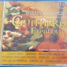 CDs de Música: CD / MÚSICA DE ORO / GUITARRA ESPAÑOLA INSTRUMENTAL, DANIEL BARRERA, MANNY OLIVERA, 2001. Lote 237637175