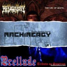 CDs de Música: PRELLUDE + MACHINERGY + RETALIATORY - 3 WAY SPLIT CD 2013. Lote 254689540