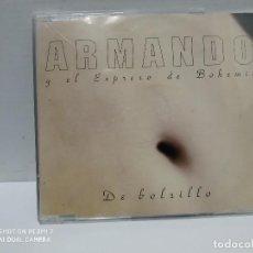 CDs de Música: ARMANDO Y EL EXPRESO DE BOHEMIA / DE BOLSILLO - CDSINGLE. Lote 237688935