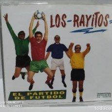 CDs de Música: LOS RAYITOS / EL PARTIDO DE FUTBOL - CDSINGLE. Lote 237690795