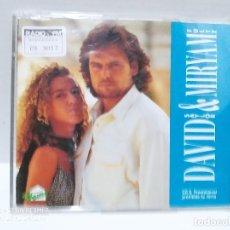 CDs de Música: DAVID Y MIRYAM / LUZ DONDE NO HAY - CDSINGLE. Lote 237693125