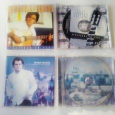 CDs de Música: LOTE DE 2 CDS DE ISMAEL SERRANO CANTAUTOR SERRAT. Lote 237696660
