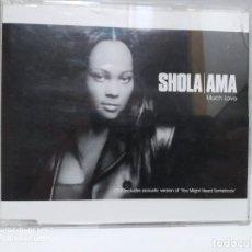 CDs de Música: SHOLA/AMA / MUCH LOVE - CDSINGLE. Lote 237703775