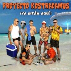 CDs de Música: PROYECTO KOSTRADAMUS - ¡YA ESTAN AQUÍ¡. Lote 237709895