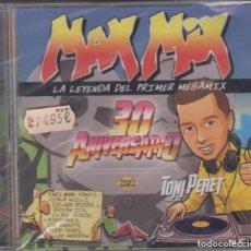 CD de Música: MAX MIX CD 30 ANIVERSARIO 2015 LA LEYENDA DEL PRIMER MEGAMIX TONI PERET (PRECINTADO). Lote 237734150