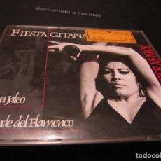 CDs de Música: FIESTA GITANA DA SILVA 2 CDS ESTUCHE GRANDE + LIBRETO. Lote 237780045