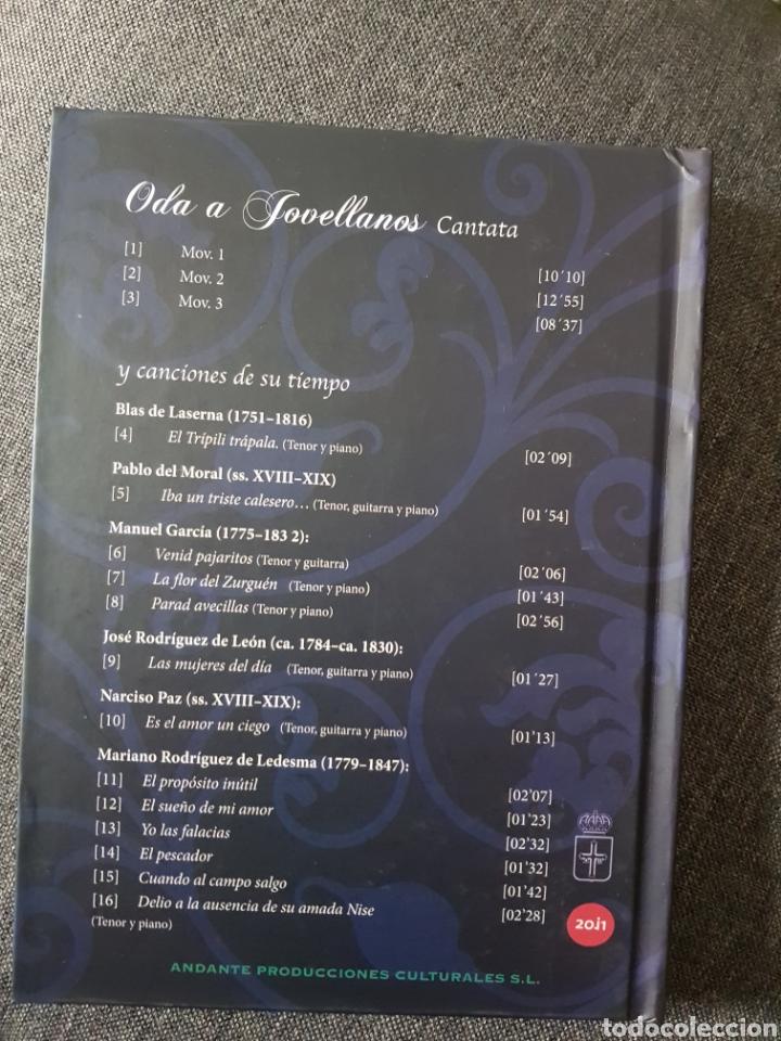 CDs de Música: Oda a Jovellanos. Canciones de su tiempo - Foto 3 - 237780330
