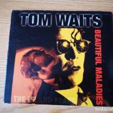 CDs de Música: TOM WAITS - BEAUTIFUL MALADIES - THE ISLAND YARS POCO USO. Lote 237841045