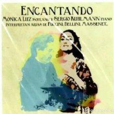 CDs de Música: MÓNICA LUZ Y SERGIO KUHLMANN - ENCANTADO. Lote 199761076