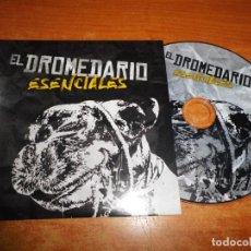 CDs de Música: EL DROMEDARIO ESENCIALES CD ALBUM PROMO CARTON 2017 EXTREMODURO ROBE MAREA EN VELA EL DESVAN. Lote 237849005