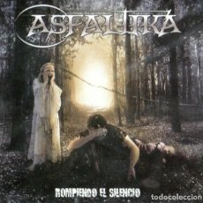 CDs de Música: ASFALTIKA - ROMPIENDO EL SILENCIO. Lote 207093412