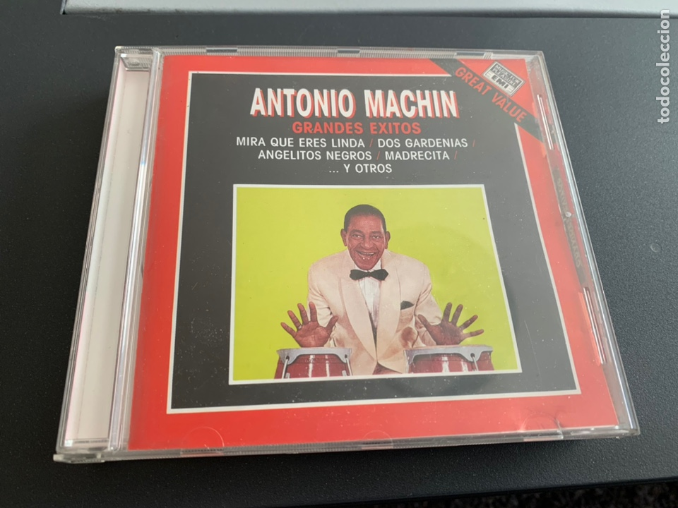 CD. ANTONIO MACHIN. GRANDES ÉXITOS 1989 (Música - CD's Melódica )