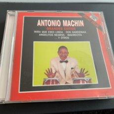 CDs de Música: CD. ANTONIO MACHIN. GRANDES ÉXITOS 1989. Lote 237990180
