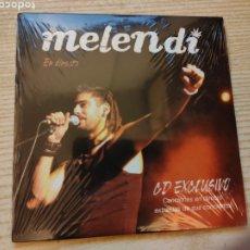 CDs de Música: MELENDI - EN DIRECTO - CD EXCLUSIVO NUEVO - PROMO PROMOCIONAL 3 TEMAS ARRIBA EXTREMODURO PANTOMIMA. Lote 238024175