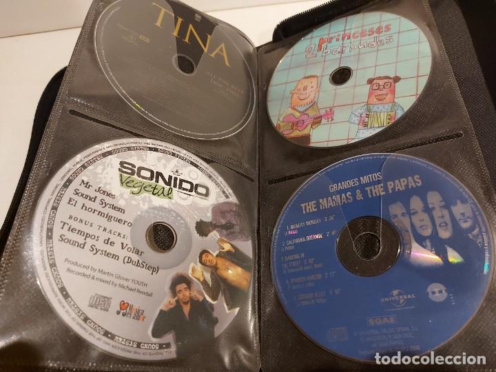 CDs de Música: ESTUCHE CONTENIENDO 56 CDS DE LUJO / TODO TIPO DE MÚSICA / BUENA OCASIÓN / VER FOTOS. - Foto 13 - 238125850