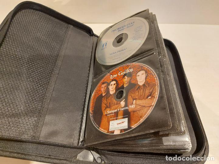 ESTUCHE CONTENIENDO 56 CDS DE LUJO / TODO TIPO DE MÚSICA / BUENA OCASIÓN / VER FOTOS. (Música - CD's Otros Estilos)