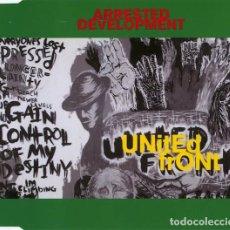 CDs de Música: ARRESTED DEVELOPMENT - UNITED FRONT (CD SINGLE: 4 TEMAS). Lote 238275915