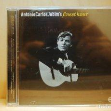 CDs de Musique: ANTONIO CARLOS JOBIM - FINEST HOUR - CD -. Lote 238291930