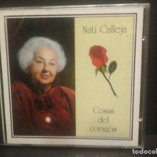 CDs de Música: NATI CALLEJA COSAS DEL CORAZON CD ALBUM PRECINTADO ASTURIAS PEPETO. Lote 238338930
