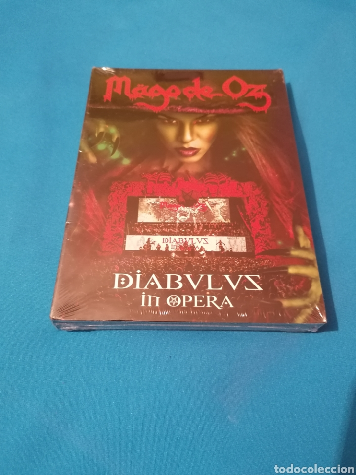 PEDIDO MÍNIMO 5€ OFERTA MAGO DE OZ DIABULUS IN OPERA 2CD + DVD PRECINTADO (Música - CD's Rock)
