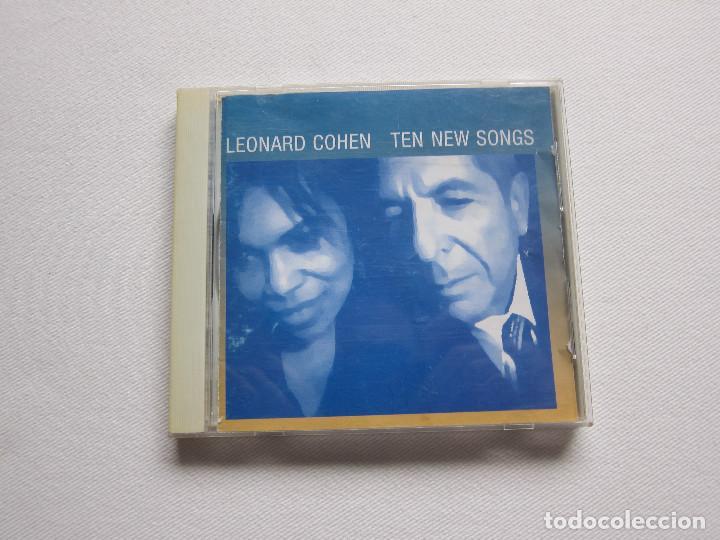 TEN NEW SONGS - LEONARD COHEN (Música - CD's Otros Estilos)