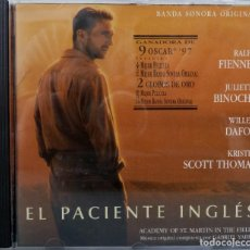 CDs de Música: EL PACIENTE INGLES - GABRIEL YARED. Lote 238353540