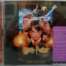 CDs de Música: HARRY POTTER AND THE PHILOSOPHER'S STONE - JOHN WILLIAMS. Lote 238353545