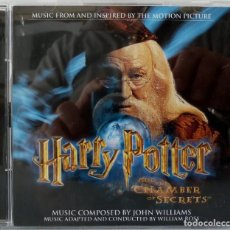 CDs de Música: HARRY POTTER AND THE CHAMBER OF SECRETS - JOHN WILLIAMS. Lote 238353550