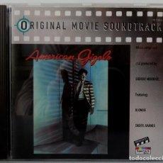 CDs de Música: AMERICAN GIGOLO - GIORGIO MORODER. Lote 238353575
