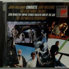 CDs de Música: THE STAR WARS TRILOGY - JOHN WILLIAMS. Lote 238353605