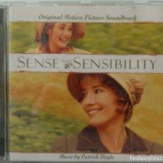CDs de Música: SENSE AND SENSIBILITY - PATRICK DOYLE. Lote 238353610