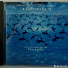 CDs de Música: LE GRAND BLEU - VOLUME 2 - ERIC SERRA. Lote 238353615