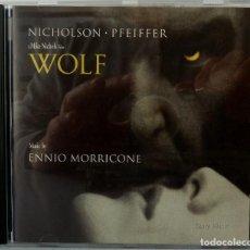 CDs de Música: WOLF - ENNIO MORRICONE. Lote 238353625