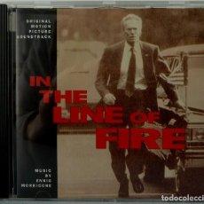 CDs de Música: IN THE LINE OF FIRE - ENNIO MORRICONE. Lote 238353630